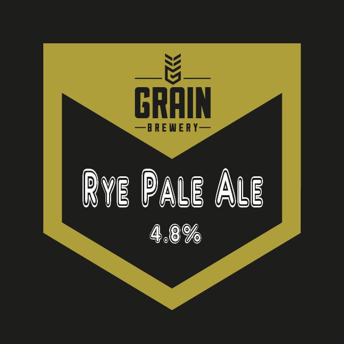 Rye Pale Ale pump clip