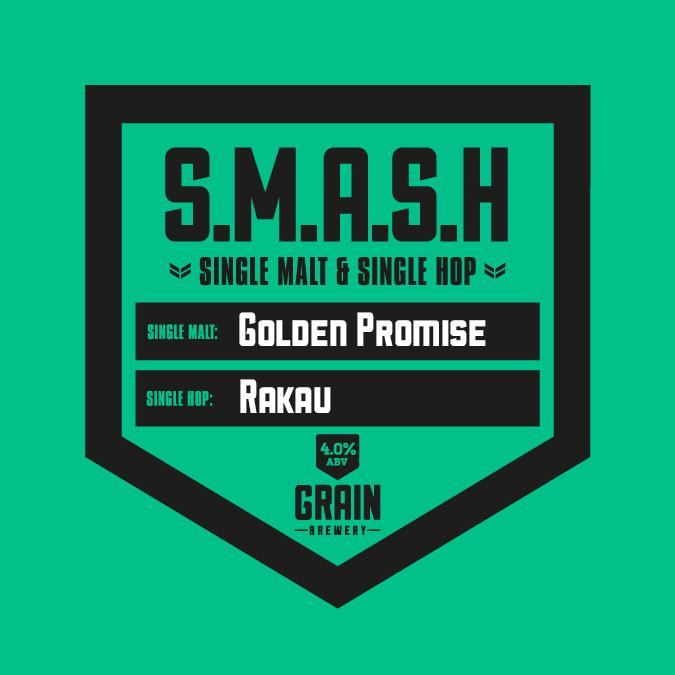 SMASH – Golden Promise Rakau