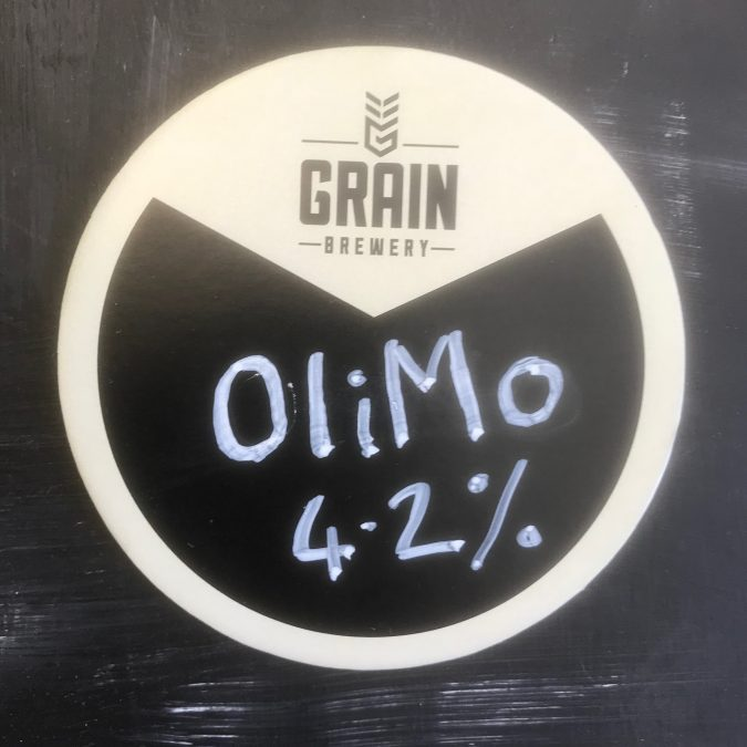 Olimo Keg badge